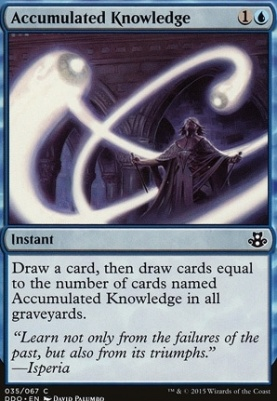 Duel Decks: Elspeth Vs. Kiora: Accumulated Knowledge