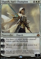 Duel Decks: Elspeth Vs. Kiora: Elspeth, Sun's Champion (Foil)