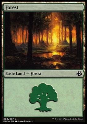 Duel Decks: Elspeth Vs. Kiora: Forest (64 B)
