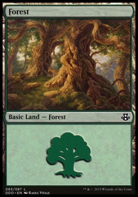 Duel Decks: Elspeth Vs. Kiora: Forest (65 C)