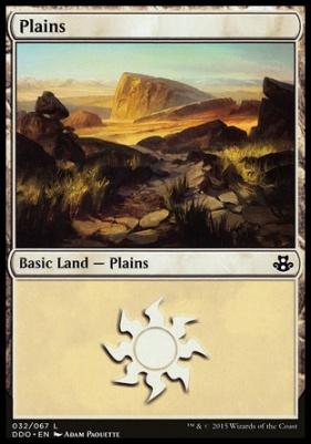 Duel Decks: Elspeth Vs. Kiora: Plains (32 C)