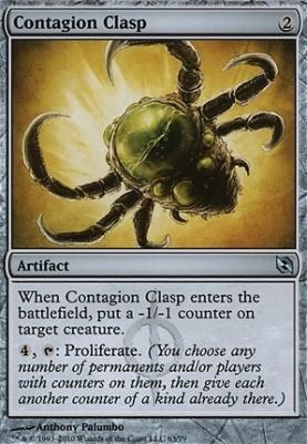 Duel Decks: Elspeth Vs. Tezzeret: Contagion Clasp