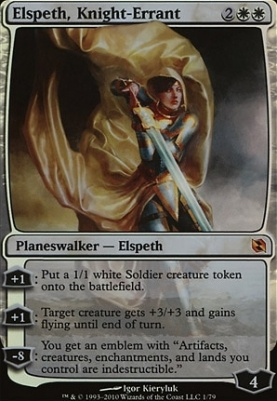 Duel Decks: Elspeth Vs. Tezzeret: Elspeth, Knight-Errant
