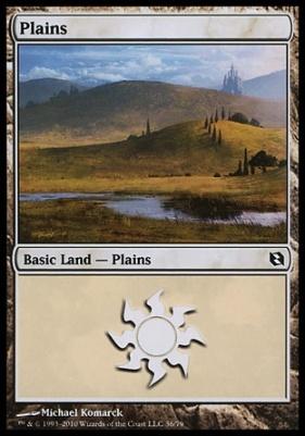 Duel Decks: Elspeth Vs. Tezzeret: Plains (36 B)