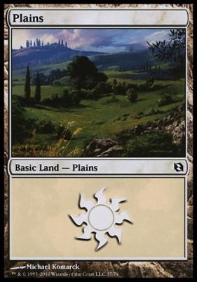 Duel Decks: Elspeth Vs. Tezzeret: Plains (37 C)
