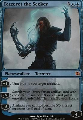Duel Decks: Elspeth Vs. Tezzeret: Tezzeret the Seeker (Foil)