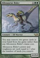 Duel Decks: Elves Vs. Goblins: Allosaurus Rider