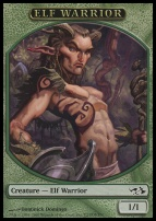 Duel Decks: Elves Vs. Goblins: Elf Warrior Token