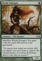 Duel Decks: Elves Vs. Goblins: Elvish Eulogist