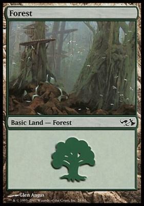Duel Decks: Elves Vs. Goblins: Forest (28 A)