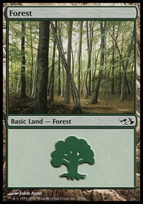 Duel Decks: Elves Vs. Goblins: Forest (29 B)