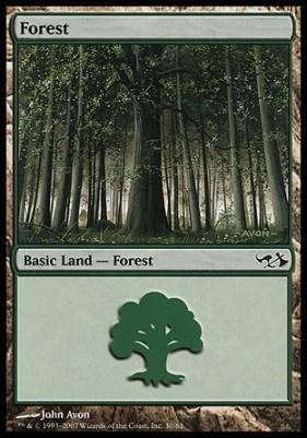 Duel Decks: Elves Vs. Goblins: Forest (30 C)