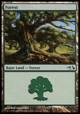Duel Decks: Elves Vs. Goblins: Forest (31 D)