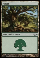 Duel Decks: Elves Vs. Goblins: Forest (31 D)