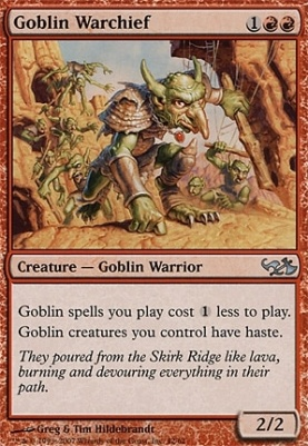 Duel Decks: Elves Vs. Goblins: Goblin Warchief