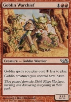Duel Decks: Elves Vs. Goblins: Goblin Warchief