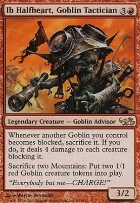 Duel Decks: Elves vs Goblins: Ib Halfheart, Goblin Tactician