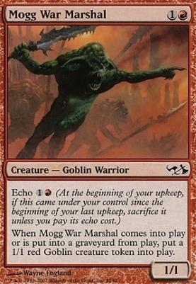 Duel Decks: Elves Vs. Goblins: Mogg War Marshal
