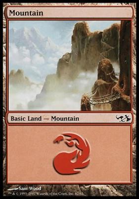 Duel Decks: Elves Vs. Goblins: Mountain (62 D)