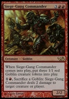 Duel Decks: Elves Vs. Goblins: Siege-Gang Commander (Foil)