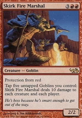 Duel Decks: Elves Vs. Goblins: Skirk Fire Marshal