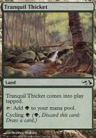 Duel Decks: Elves Vs. Goblins: Tranquil Thicket