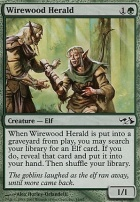 Duel Decks: Elves Vs. Goblins: Wirewood Herald