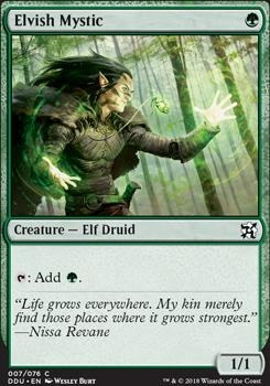 Duel Decks: Elves Vs. Inventors: Elvish Mystic