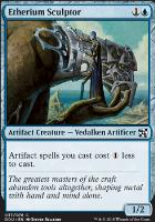 Duel Decks: Elves Vs. Inventors: Etherium Sculptor