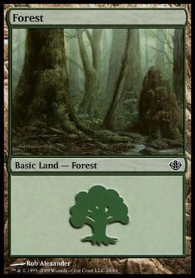Duel Decks: Garruk Vs. Liliana: Forest (28 A)