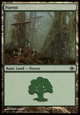 Duel Decks: Garruk Vs. Liliana: Forest (29 B)
