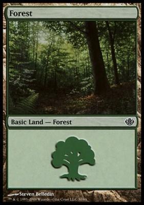 Duel Decks: Garruk Vs. Liliana: Forest (30 C)