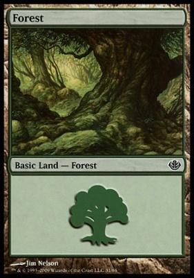 Duel Decks: Garruk Vs. Liliana: Forest (31 D)