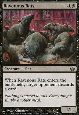 Duel Decks: Garruk Vs. Liliana: Ravenous Rats