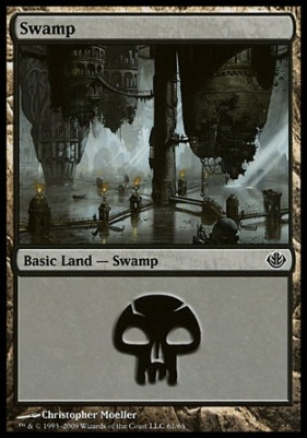 Duel Decks: Garruk Vs. Liliana: Swamp (61 B)
