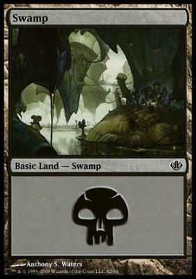 Duel Decks: Garruk Vs. Liliana: Swamp (62 C)