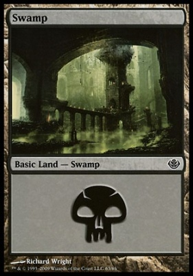 Duel Decks: Garruk Vs. Liliana: Swamp (63 D)