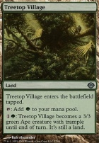 Duel Decks: Garruk Vs. Liliana: Treetop Village