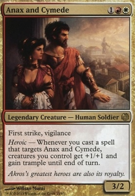 Duel Decks: Heroes Vs. Monsters: Anax and Cymede