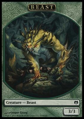 Duel Decks: Heroes Vs. Monsters: Beast Token