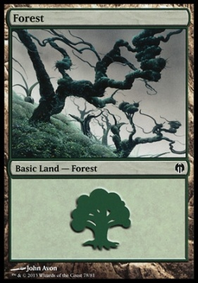 Duel Decks: Heroes Vs. Monsters: Forest (78 A)