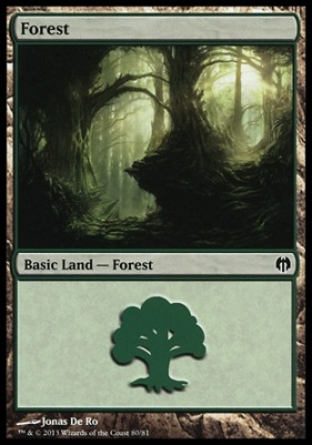 Duel Decks: Heroes Vs. Monsters: Forest (80 C)