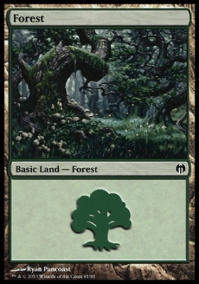 Duel Decks: Heroes Vs. Monsters: Forest (81 D)