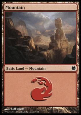 Duel Decks: Heroes Vs. Monsters: Mountain (35 A)