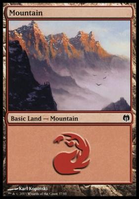 Duel Decks: Heroes Vs. Monsters: Mountain (37 C)