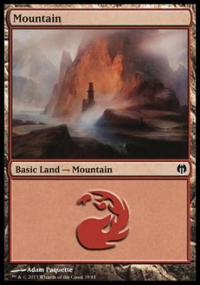 Duel Decks: Heroes Vs. Monsters: Mountain (38 D)