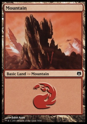 Duel Decks: Heroes Vs. Monsters: Mountain (74 E)
