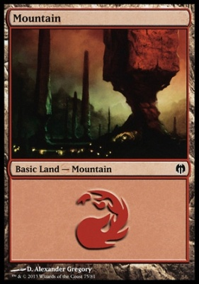 Duel Decks: Heroes Vs. Monsters: Mountain (75 F)