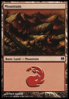 Duel Decks: Heroes Vs. Monsters: Mountain (76 G)