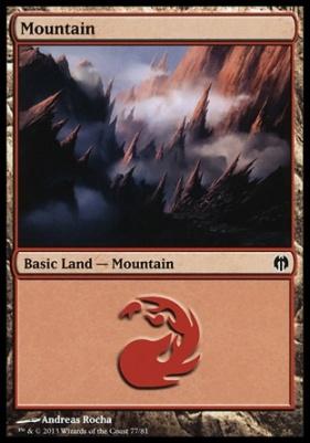 Duel Decks: Heroes Vs. Monsters: Mountain (77 H)